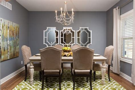 beautiful dining rooms incorporating mirrors