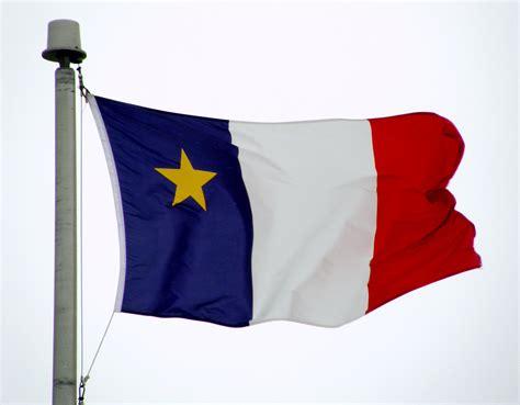 file flag of acadia jpg wikimedia commons