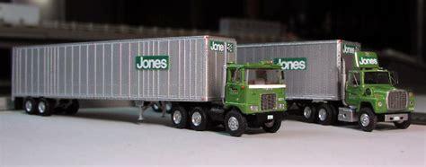 jones motor jones motor lines mack f700 ford lnt 9000 truck tractors