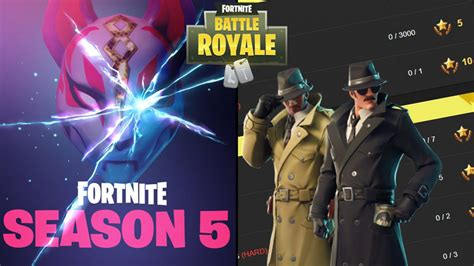 fortnite challenges for season 5 leaked fortnite battle royale challenges for week 6 of