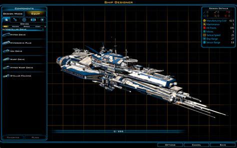 ship designer ship designer contest galactic civilizations iii