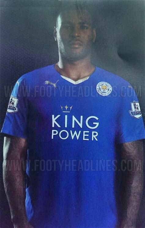 Leicester Home Leicester Away new leicester city 2015 16 home away kits released