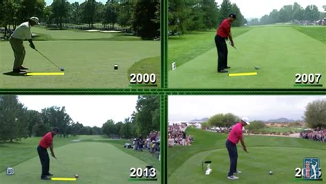 tiger woods old swing us pga tour tiger woods swing archive