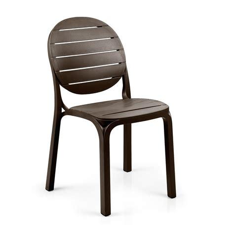 sedie esterni sedia per esterni in resina erica nardi