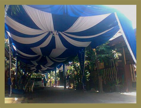 image gallery tenda biru