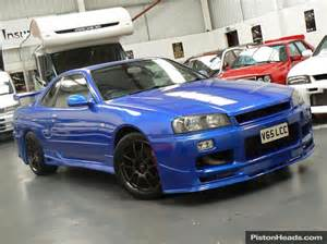 Nissan Skyline R34 1999 For Sale Used Nissan Skyline R34 Cars For Sale With Pistonheads