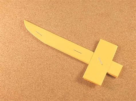 Steps To Paper - how to make a paper knife 9 steps with pictures wikihow