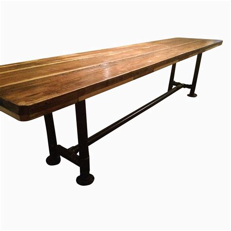 industrial dining tables buy a made industrial reclaimed scaffolding planks