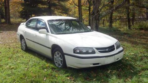 2002 chevy impala black buy used 2002 chevy impala 140k trooper white
