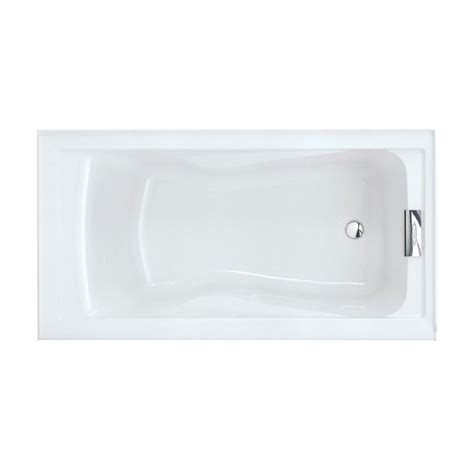 deep bathtubs home depot american standard evolution 5 ft reversible drain deep