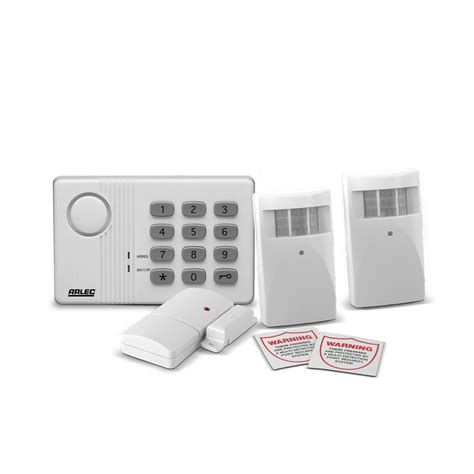 arlec wireless home security alarm system bunnings warehouse
