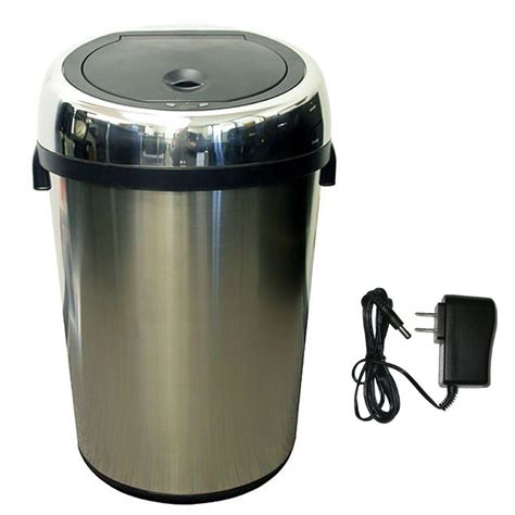 itouchless 23 gal stainless steel motion sensing