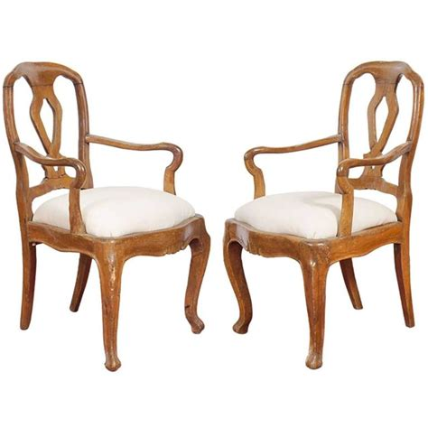 country style chairs carved country style italian chairs pair for sale at