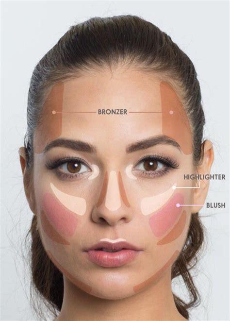 blush makeup natural tutorial makeup cheat sheet this lifesaver face map helps you to