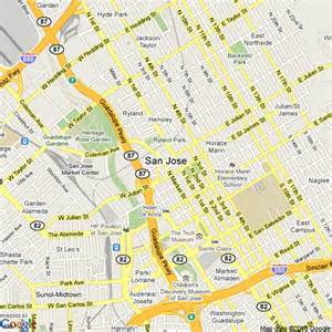 map of san jose california united states hotels