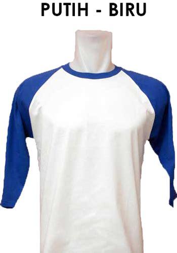 Putih Size S Kaos Polos Cotton Combed 20s O Neck Murah jual kaos polos raglan 20s lengan 3 4 polos co id