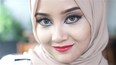 Make Up Shop Indonesia make up lebaran dramatic winged eye with