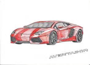 Lamborghini Aventador Drawing Lamborghini Aventador Lp700 4 Drawing I Combined Two Of