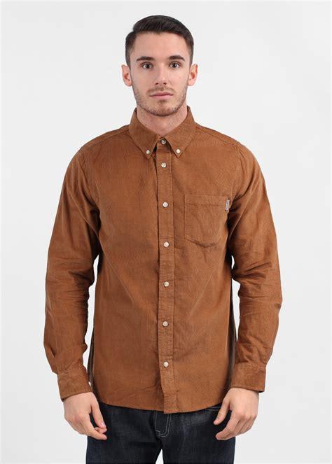 Corde Shirt carhartt ls prescott cord shirt brown