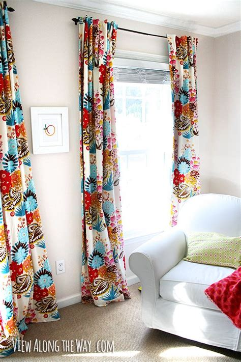 colorful curtains 25 best ideas about colorful curtains on