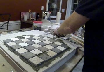 diy chess board 6 how to make a easy diy ceramic tile chess or checkers
