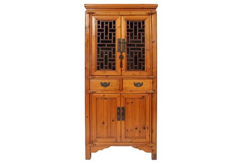 Vintage Wine Cabinet by Antique Cabinet With Wine Rack Omero Home