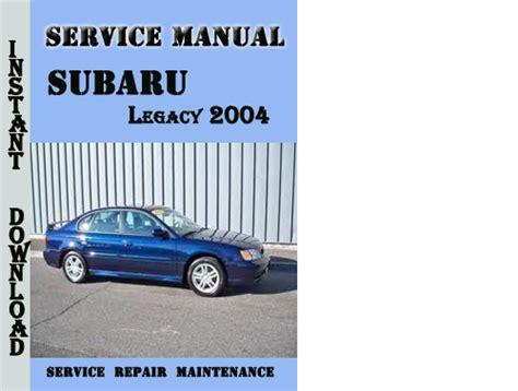 subaru legacy 2004 2009 factory service repair manual electric diagram pdf for sale service manual pdf 2004 subaru legacy transmission service repair manuals service manual