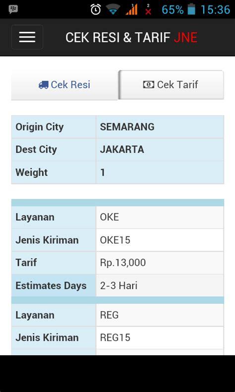 Info Pengiriman Terlambat Dan Info Paket Jne Tiki Wahana Go Kilat aplikasi android cek resi dan tarif ongkir jne tiki pos indonesia info world