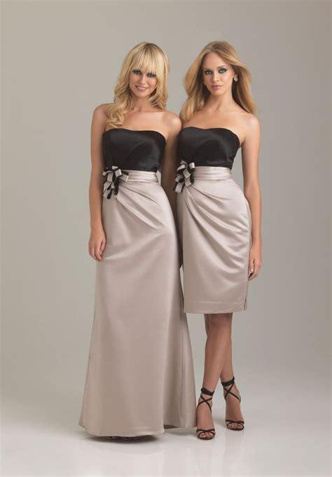 colored bridesmaid dresses whiteazalea bridesmaid dresses chagne colored
