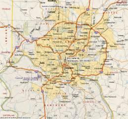 cincinnati in us map map of cincinnati map3