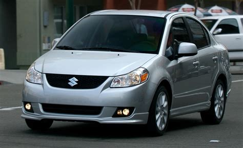09 Suzuki Sx4 Car And Driver