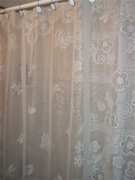 white sheer shower curtain garden flower 72 x 72 wscb60 ebay