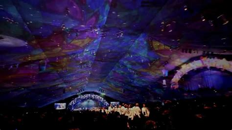 projected on ceiling 2d projection mapping on a tent ceiling