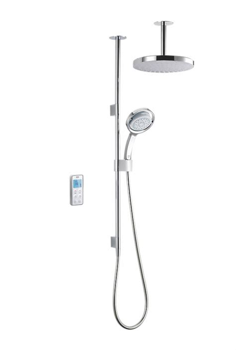Digital Mixer Shower by Mira Vision Ceiling Fed Pumped Digital Mixer Shower