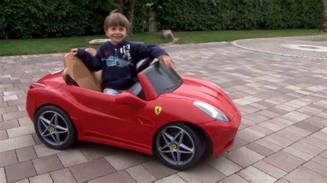 F R Kinder Autos by Ferrari Elektroauto F 252 R Kinder Kinderauto F 252 R Jungs