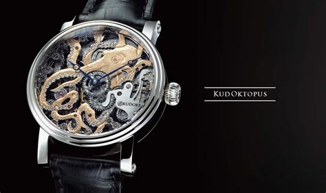Handmade German Watches - kudoktopus kudoke the master of skeleton watches