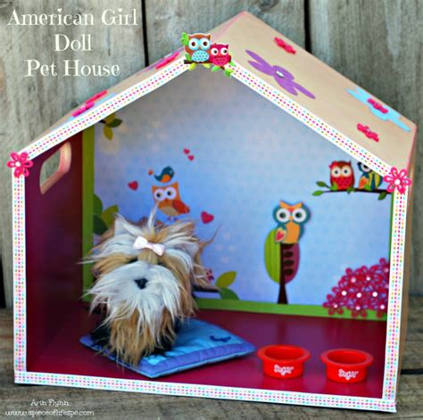 girl dog house american girl doll dog house a piece of life s pie