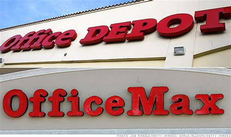 Office Depot Officemax Merger by Office Depot And Officemax Merge To Create 18b Company