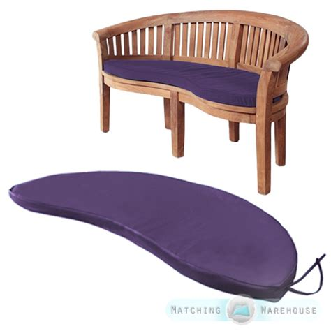 banana bench cushion banana peanut bench waterproof garden cushion pads moon