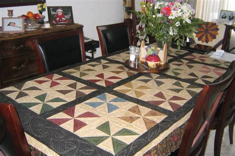 quilted tablecloth table linens 20 best quilting tableclothes images by roever on