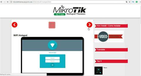 cara membuat hotspot dengan mikrotik rb750 cara mudah mengubah tilan login hotspot mikrotik iman