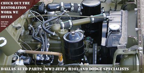 Ww2 Jeep Parts Ww2 Willys Ford Jeep Parts M201 Dodge Specialists