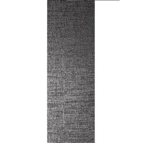 Dekor Wandfliesen by Wandfliese Vulcano Metall Dekor Schwarz Matt 30x120cm