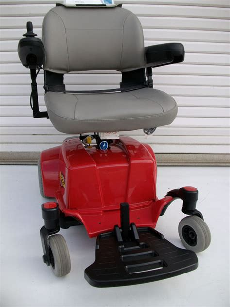 Jazzy Power Chair Used by Used Jazzy Select Traveller Portable Power Wheelchair