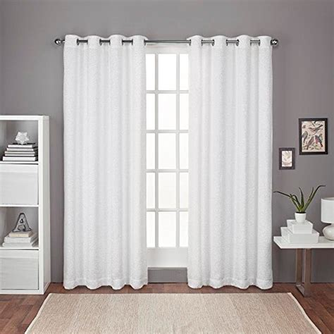 Cross Grommet Top exclusive home curtains criss cross chenille eyelash room