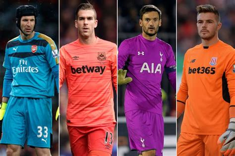 epl keepers clean sheet the premier league s top 10 goalkeepers revealed mirror