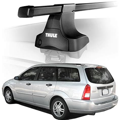 2005 ford focus wagon roof rack complete system thule