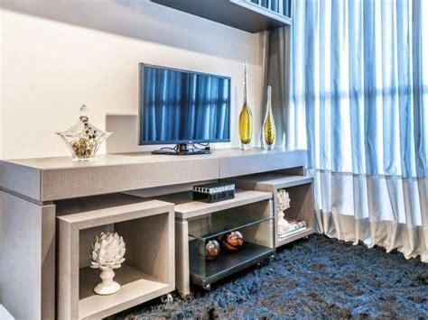 como decorar uma rack painel rack para tv 65 ideias de decora 231 227 o para sua sala ficar