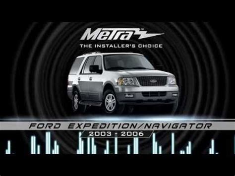 how to install aftermarket stereo in ford excursion with