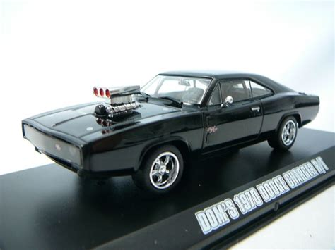 Greenlight 1 43 Dodge Charger The Fast And The Furius 2001 Promo miniature dodge charger r t 1970 quot fast and furious 5 quot 2011